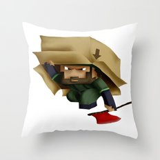 Solid Stobo Avatar Throw Pillow