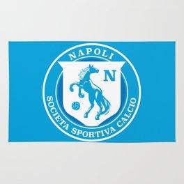 Naples Horse Football badge Rug