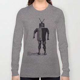 Awkward Robot Long Sleeve T-shirt