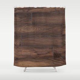 cherry plank Shower Curtain