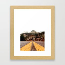 """The Road"" Framed Art Print"