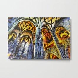 Vienna Cathedral Vincent Van Gogh Metal Print