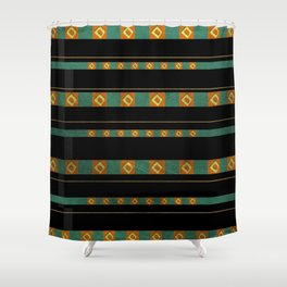 Moche II Shower Curtain