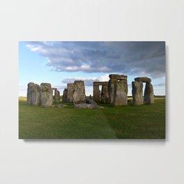 Mystery of Stonehenge Metal Print