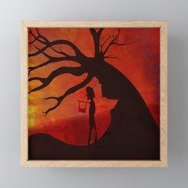True Crime (Gets Rewarded) Framed Mini Art Print