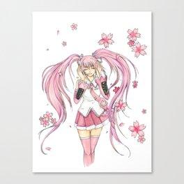 SakuraMiku Canvas Print