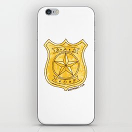 Bad Cop iPhone Skin