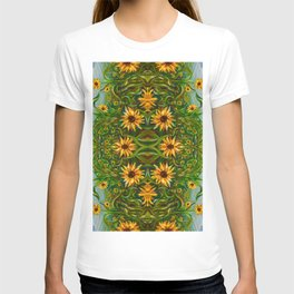 Sunflower Dancing in the Moonlight T-shirt
