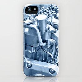 Turbo Diesel Engine iPhone Case