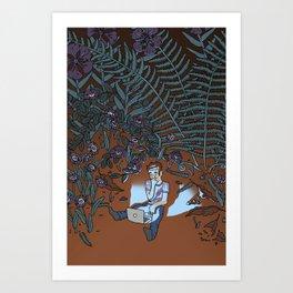Into the Mild Art Print