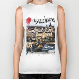 I love Budapest Biker Tank
