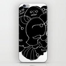 Heads N°9 iPhone & iPod Skin