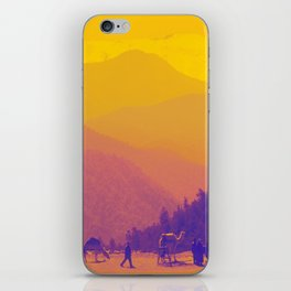 Mountains & Camels iPhone Skin