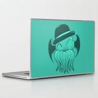 cthulhu Laptop & iPad Skins featuring Classy Cthulhu  by Jonah Makes Artstuff