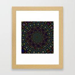 Mandala Symbol Framed Art Print