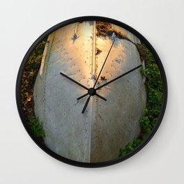 A Metal Boat Wall Clock