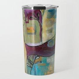 """Conjure"" original painting by Alison Moncrieff Travel Mug"