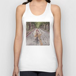 The Oval Unisex Tank Top