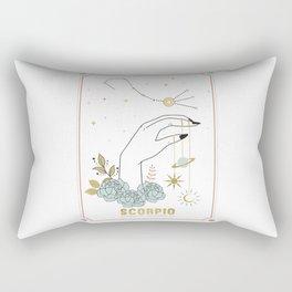 Scorpio Zodiac Series Rectangular Pillow