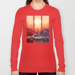 Into the Sun, Ford Mustang 65 KB Long Sleeve T-shirt