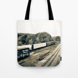The Train Gang Tote Bag