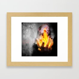 Connected Poster 1- Lucy Framed Art Print