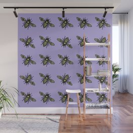 Busy Bees Wall Mural