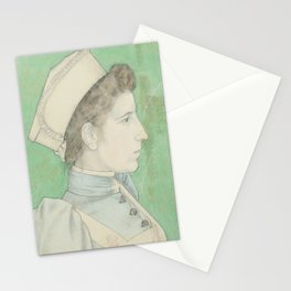 Portrait of Nurse Nelly, Jan Toorop, 1894 Stationery Cards