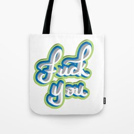 Adult Swear Word Tote Bag