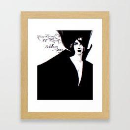 Miss Lucy Framed Art Print