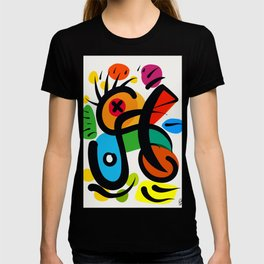 Abstract Art Decoration Fashion T-shirt