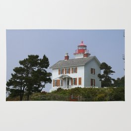 Historic Yaquina Bay Lighhouse Rug