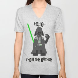 Darth Quotes Adele Unisex V-Neck