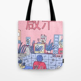 NEON ASIA PINK EDITION Tote Bag