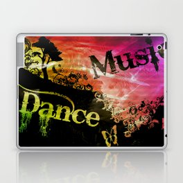 Dance and Music Poster Laptop & iPad Skin