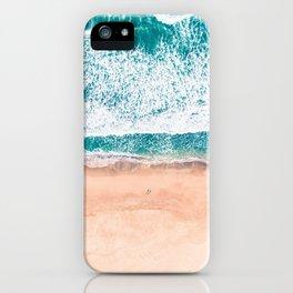 Faded ocean life iPhone Case