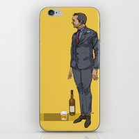 crowley iPhone & iPod Skins featuring crowley by publicserviceannouncement
