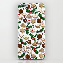 Christmas Treats and Cookies iPhone Skin