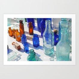 Flea Market Glass (pt. 2) Art Print