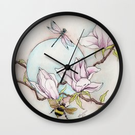Keepers of the Magnolias Wall Clock
