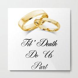 Vows Metal Print