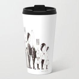 Family Portrait Line-up Travel Mug