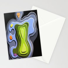 Beautiful body Stationery Cards