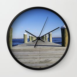 Docks Wall Clock