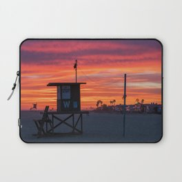 Wedge Tower at Sunset Laptop Sleeve