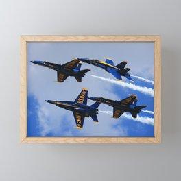 US Navy Blue Angels Framed Mini Art Print