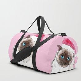 Santa Cat Duffle Bag