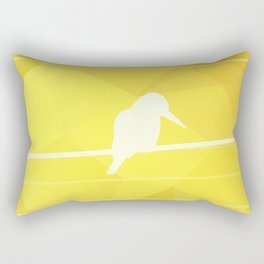 Still Lost in Thought Rectangular Pillow