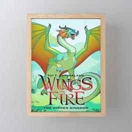 The Hidden Kingdom - Wings Of Fire Framed Mini Art Print