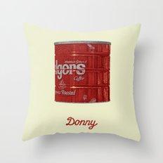 The Lebowski Series: Donny Throw Pillow